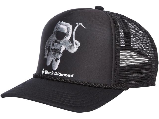 Black Diamond Flat Bill Nakrycie głowy, spaceshot print